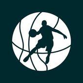 Vector of a basketball — Stock Vector