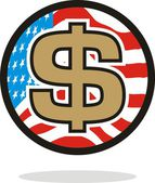 US dollar — Stockvektor