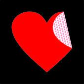 心的形状 — 图库矢量图片