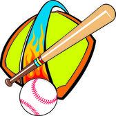 Baseball — Stock vektor