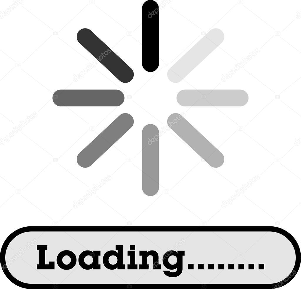 Loading please wait icon