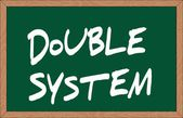 """double system"" — Stock Vector"