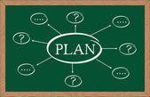 """plan"" — Stock Vector"