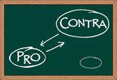 """""""pro contra"""" — Vecteur"""