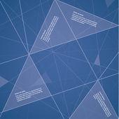 Vector futuristic template. Colorful background. — Vector de stock