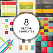 Big pack of vector banners. Include 24 trendy banners. — Stock Vector