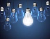灯泡矢量 — 图库矢量图片