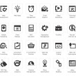 Seo and development icon sets — Vector de stock