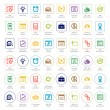 Seo and development icon sets — Stock Vector #35602939