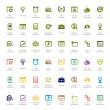 Seo and development icon sets — Stock Vector