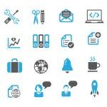 Media icon sets — Stock Vector