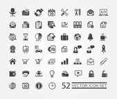 Web icons for business, finance and communication — Stockvektor