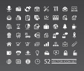 Web icons for business, finance and communication — Stockvector