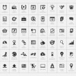 Постер, плакат: SEO and development icon set