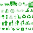 Ecology, environment, recycle icons signs set — Stock Vector #37831775
