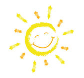 Smiling sun — Stock Vector