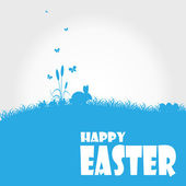 Happy easter cards illustration — Stock Vector