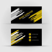 Business card — Vettoriale Stock