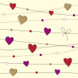 Valentine day background — Image vectorielle