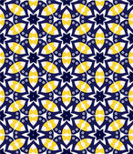 Stunner geometric seamless pattern — Vecteur