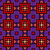 Vektor nahtlose abstrakte geometrische Muster — Stockvektor