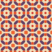 Vector naadloze abstracte geometrische patroon — Stockvector