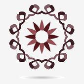 Vektorové ikony eco, květina návrhový element — Stock vektor