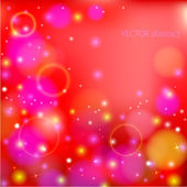 Abstract glow soft bokeh — Stock Vector