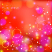 Abstract glow soft bokeh — Stock vektor