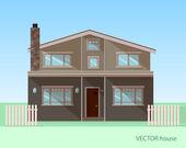 Vector house — Stock Vector