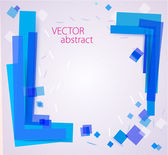 Abstract chaotic background — Stock Vector