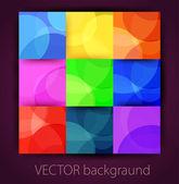 Vector abstract colored background  — Vector de stock