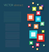 3D digital Infographic — Stock Vector