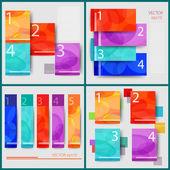 Infographic Flat designs — Stock Vector