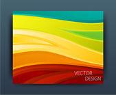 Flyer or banner design — Stock Vector