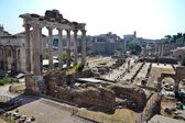 Forum Romanum in Rome, Italy — Stock Photo
