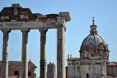 Forum Romanum in Rome, Italy — Stockfoto