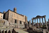 Forum Romanum in Rome, Italy — Stock Photo