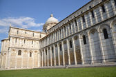 The Duomo of the Cathedral Square in Pisa — Stock Photo