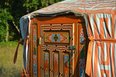 Yurt - Mongolian Ger — Stock Photo