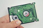 Hard disk drive — 图库照片