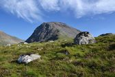 Ben Nevis - the highest mountain in Britain — Stok fotoğraf