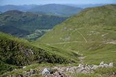 Path to the Ben Nevis summit — Stock Photo