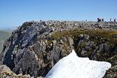 Ben Nevis summit - the highest mountain in the United Kingdom — Стоковое фото