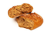 Fresh bread isolated — Stockfoto