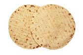 Wheat round tortillas — Stock Photo