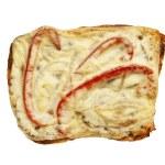 Sandwich isolated on white background — Stock Photo #43917017