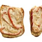 Sandwich isolated on white background — Stock Photo #43917091
