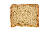 Fresh bread isolated — Stock Photo