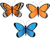Бабочка — Cтоковый вектор